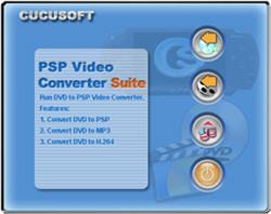 PSP Video Converter + DVD to PSP Converter Suite